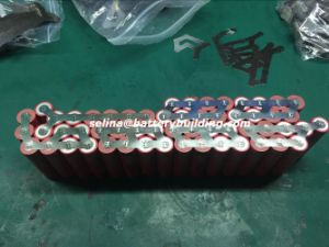 52V 14ah Hailong Lithium Battery Ga Shark Pack with Stamped Nickels and Un38.3 Certification pictures & photos