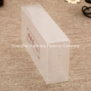 High Grade Clear Pet UV Prinitng Plastic Boxes for Cosmetic Package pictures & photos