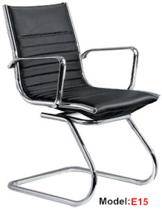 Office Leather Adjustable Hotel Meeting Visitor Chair (E15) pictures & photos
