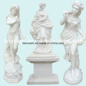 Marble Stone Statues Carving for Garden Decoration pictures & photos
