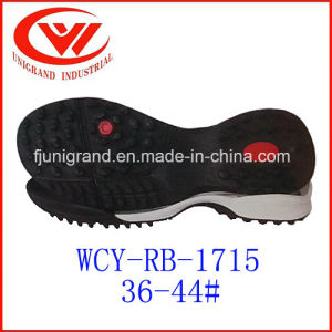 Rubber Outsole Outdoor Sole for Soccer Shoes pictures & photos
