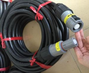 90mm2 120mm2 Power Cable Wire with Powerlock Plugs pictures & photos