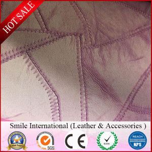 New Design PVC Leather for Bags Chair Sofa Hot Design Factory Wholesales Synthetic Leather Irregular Pattern pictures & photos