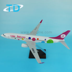 9air. COM Red Resin Stand Plane Model B737-800 pictures & photos