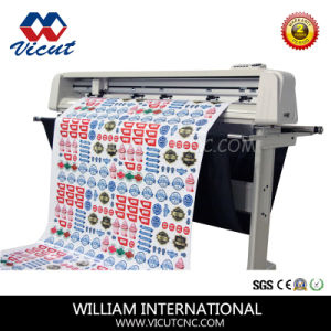 Paper or Plastic Sticker Cutting Vinyl Plotter Cutter (VCT-1350AS) pictures & photos