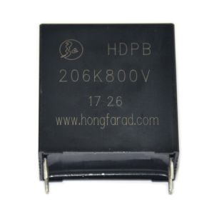 Power Capacitor DC Link Metallized Polypropylene Film Capacitor for PCB pictures & photos