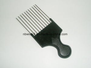 11 Metal Pin Plastic Comb pictures & photos
