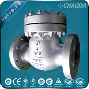 ANSI Standard Flanged Cast Steel Swing Check Valve pictures & photos