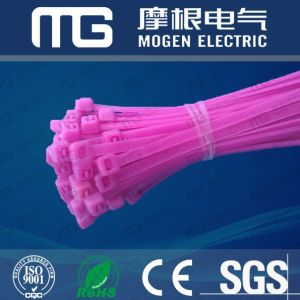 Plastic White Self Locking Nylon Cable Ties pictures & photos