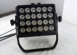 Outdoor 24PCS 10W RGBW 4in1 LED PAR Can for Stage (HL-028) pictures & photos