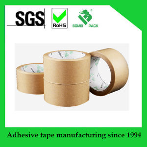 High Quality Gummed Kraft Paper Tape Hotmelt Adhesive Kraft Tape pictures & photos