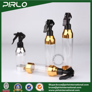 120ml 160ml 200ml 230ml Hair Salon Water Mist Spray Bottle Clear Plastic Bottle with Trigger Sprayer Cosmetic Perfume Bottle pictures & photos