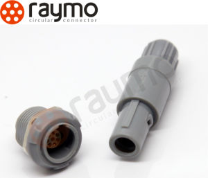 Alternative Plastic Redel 3 Pin Pag Circular Medical Connector pictures & photos