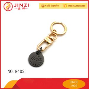 Custom Brand Name Logo Metal Coin Holder Keychains pictures & photos