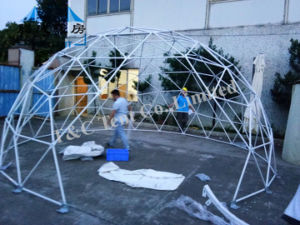 Geodesic Steel Large Dome Tent for Events Family Tent China pictures & photos