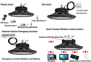 Multi-Functional 60W-300W UFO LED Highbay Light pictures & photos