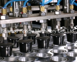 Cup Filling and Sealing Machine for Coffee Capsule pictures & photos