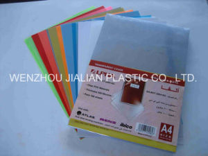 Rigid PVC Sheet for Binding Cover of A4 / A3 or Customized pictures & photos