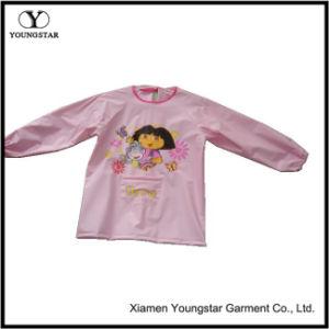 Smock Waterproof Dirt Painting Clothing Waterproof Baby Girl Boy Long Sleeve Cartoon Apron Bibs pictures & photos