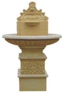 Sandstone Carved Material Water Spray Statue Fountain pictures & photos