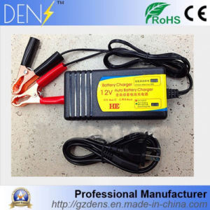 12V 3A Lead-Acid Battery Charger for for Motorcycle/Car pictures & photos