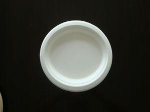 Eco Friendly Disposable Sugarcane Pulp Paper Plate pictures & photos