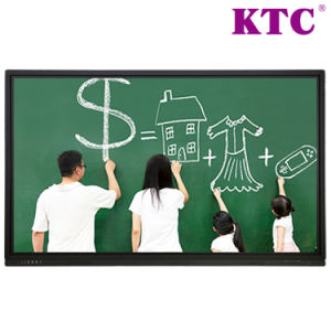 75 Inch High Definition Interactive Flat Panel with No Blind Spots Complete Touch pictures & photos