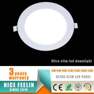 Ultra Slim 3W LED Downlight& Round LED Panel Light for Ceiling Light pictures & photos