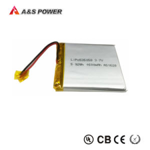 3.7V 1600mAh Battery Lipo 535058 with PCM pictures & photos