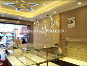 Middle East Style Natural Marble Stone Mosaic Tile (FYSD305-1) pictures & photos