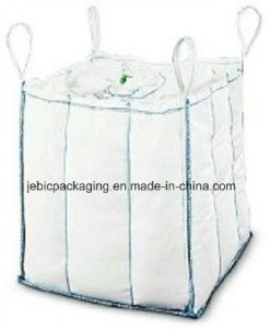PE Liner Beige Baffle Bulk Bags for Packaging Starch Powder pictures & photos
