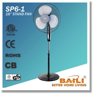 """Popular 16"""" Oscillating Stand Fan, Pedestal Fan with Powerful Air Flow pictures & photos"""