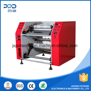 Stretch Film Roll Slitter Rewinder Machine pictures & photos