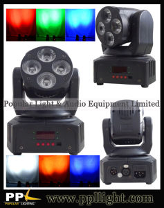 Club/DJ/Bar Light 4PCS 10W/18W Bright LED Wash Moving Head Light pictures & photos