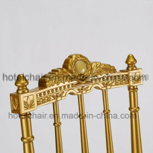China Supplier Empire Style Metal Table Legs Wedding Chair with Party pictures & photos