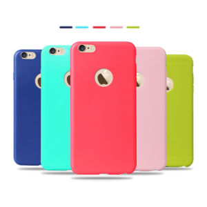 Case iPhone 5s Candy Colors Slim TPU Silicone Phone Case pictures & photos