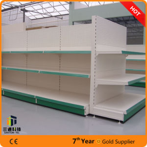 European Metal Supermarket Shelf/Supermarket Display Rack pictures & photos