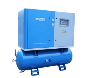 Oil-Lubricated Receiver Mounted Screw Electric Air Compressor (KA7-13/250) pictures & photos