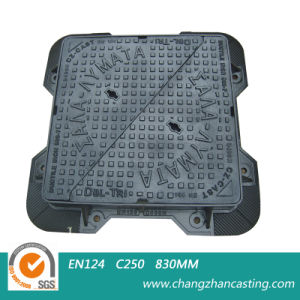 Ductile Iron Square Manhole Covers pictures & photos