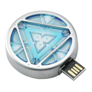 Marvel Arc Reactor USB 2.0 Memory Flash Stick Thumb Drive pictures & photos