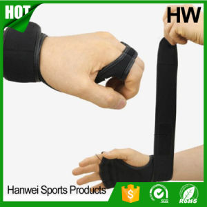 Adjustable Waterproof Weight Lifting Gloves Neoprene Straps pictures & photos