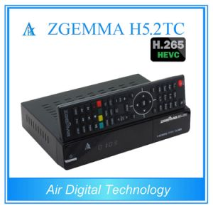 European Hot Sale Multistream Decoding Box Zgemma H5.2tc Linux OS DVB-S2+2*DVB-T2/C Dual Tuners pictures & photos