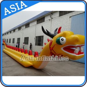 Customized Inflatable Water Games Dragon Boat, Flying Banana Boat Towables for 10 People pictures & photos