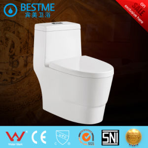 Factory Price Wc Toilet with Side Flush System pictures & photos