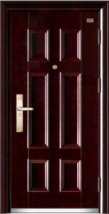 New Design Security Steel Door Made in China Doors pictures & photos