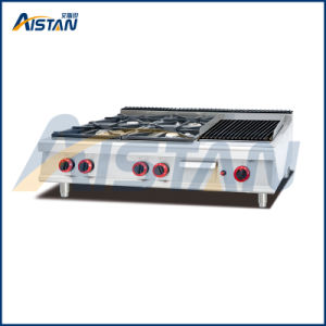 Gh799-1 4 Burner with Grill of Cooking Equipment pictures & photos