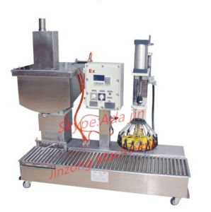 Single Head Semi-Automatic Filling Machine for Emulsion Paint pictures & photos