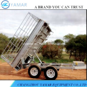 9X5 Dump Trailer with Hydraulic System pictures & photos
