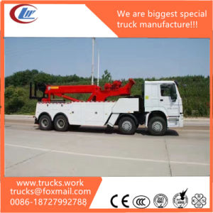 Heavy-Duty S Series (HOWO) Road Wrecker Towing Truck pictures & photos