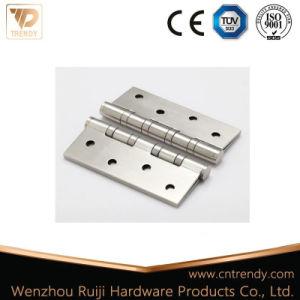Hinges Hardware Manufacture Satin Nickel Brass Door Hinges (HG-0001) pictures & photos